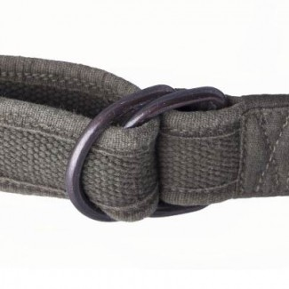 MR Olive Drab Cotton Webbing D-Ring Belt