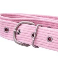 Pastel Pink Webbing Belt