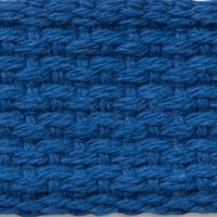 Royal blue cotton webbing