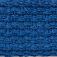 Royal blue cotton webbing
