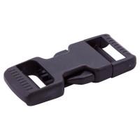DSR Black Plastic Dual Side Release Buckle