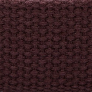 brown cotton webbing