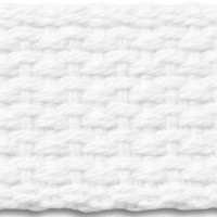 White cotton webbing