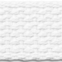 White cotton webbing