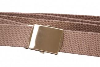 Buff webbing belt
