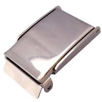 Nickel flip top cam buckle