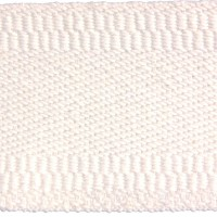CD White Cotton Cadet Webbing