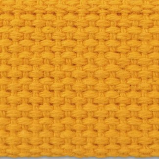 6L Gold Heavy-weight Cotton Webbing