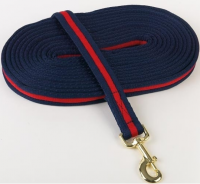 25ft. SOFT LUNGE LINE WITH BRASS PLATED BOLT SNAP