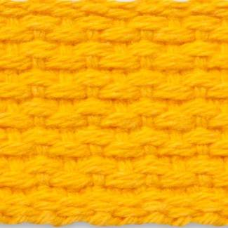 Gold cotton webbing
