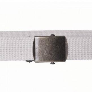 Natural cotton webbing belt