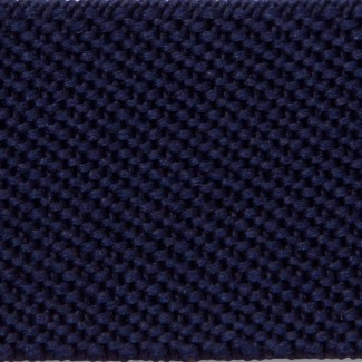Navy blue elastic