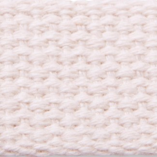 Natural heavyweight cotton webbing