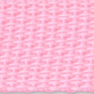 Pink propylene webbing