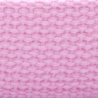 pastel pink cotton webbing