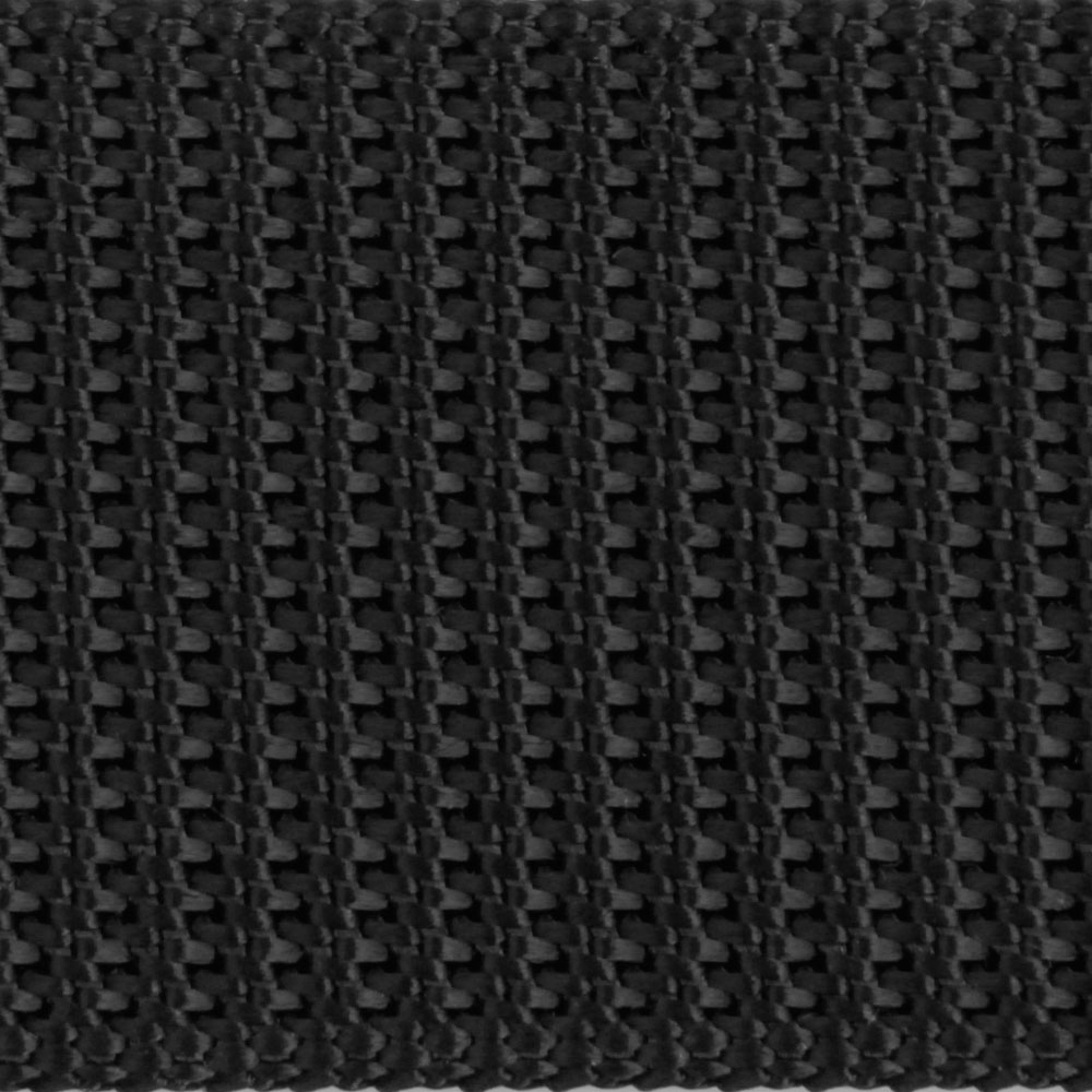 An Approved Black Nylon Webbing National Webbing Products