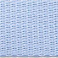 Pastel blue nylon webbing