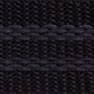 656 Black Polypropylene with Rubber Tracers