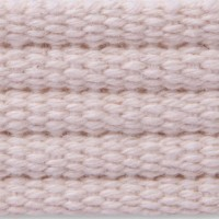 Natural ribbed cotton webbing
