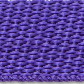 Purple polypropylene webbing