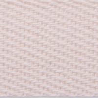Woven natural cotton webbing