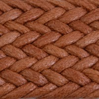 SHT Tobacco Waxed Cotton Braid