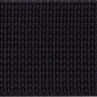 Black heavy nylon webbing