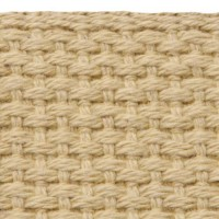 Khaki cotton webbing