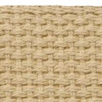 Khaki cotton webbing