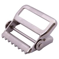 Nickel pivoting release buckle