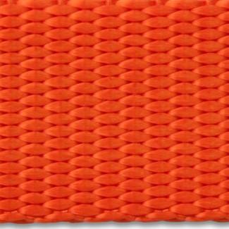 Orange nylon webbing
