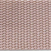 Taupe polypropylene webbing