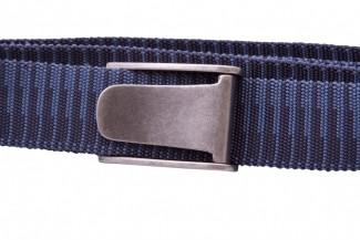 Blue webbing belt