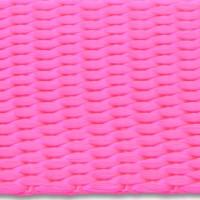 Neon pink nylon webbing