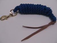 10ft. x 5-8inch Cotton Lead With Leather Popper