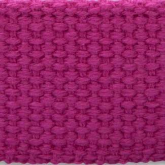 Fuchsia cotton webbing