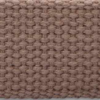 6LL Buff Mid-weight Cotton Webbing