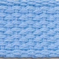 Pastel blue cotton webbing