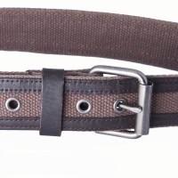 brown webbing belt