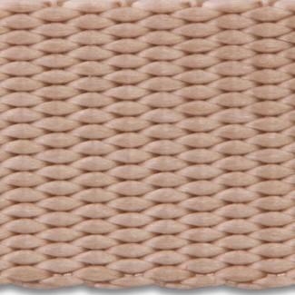 Taupe nylon webbing