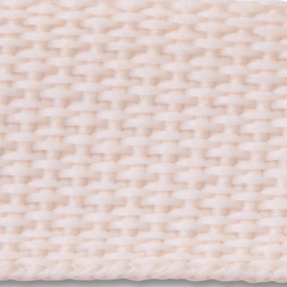 604 Natural Lightweight Woven Polypropylene Webbing