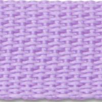Lilac polypropylene webbing