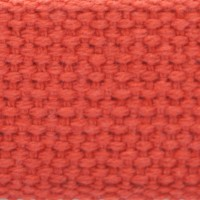 Orange cotton webbing