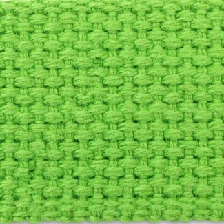 Lime cotton webbing