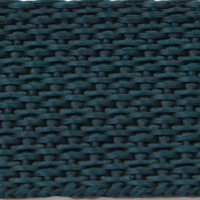 Hunter green polypropylene webbing
