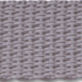 Grey polypropylene webbing