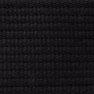 Black Cotton Webbing