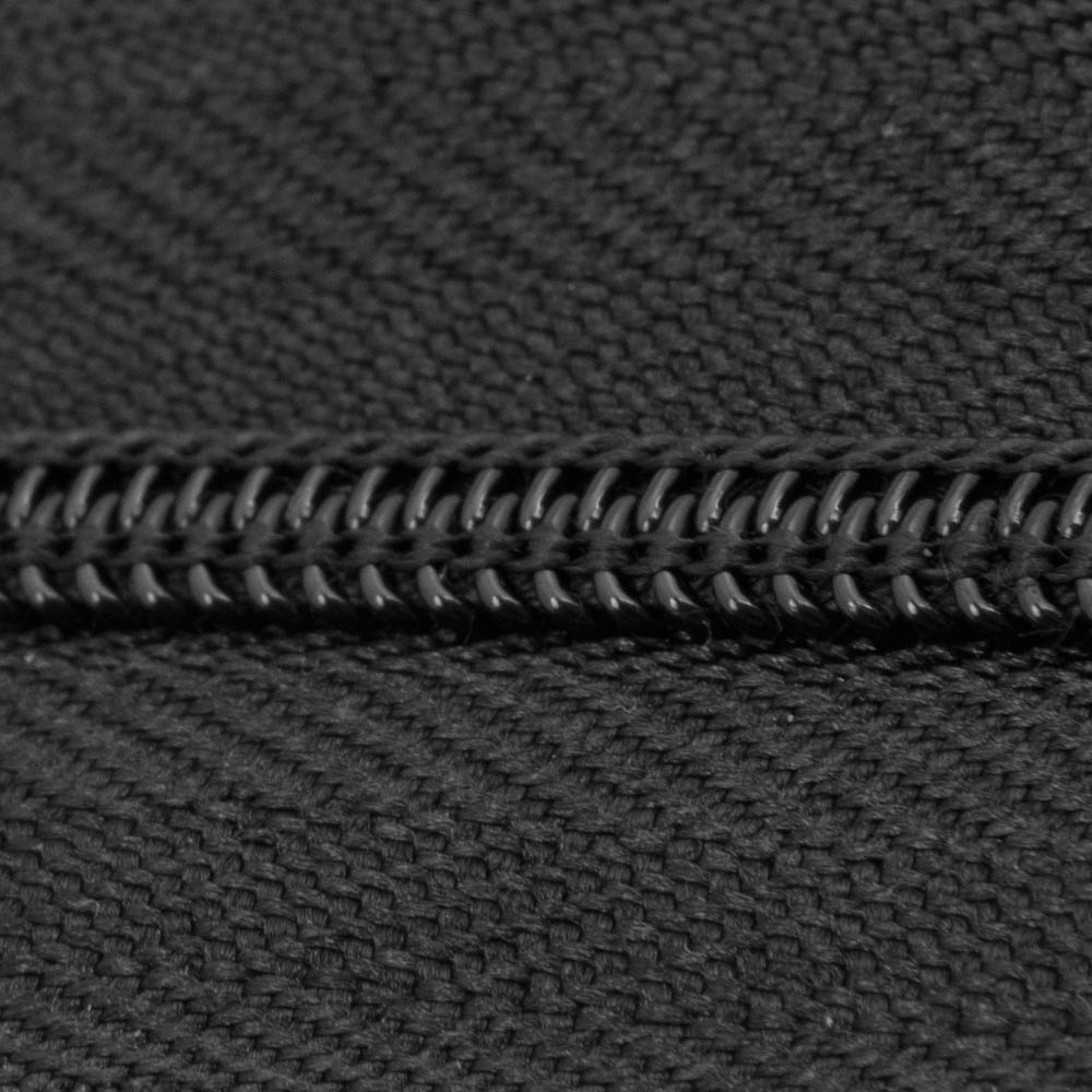 Zpr Black Polyester Zipper Chain National Webbing Products