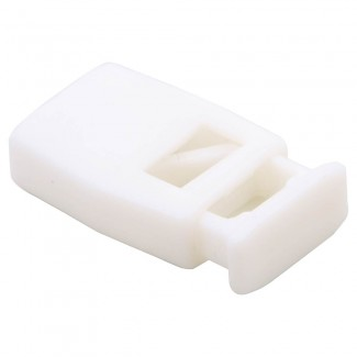 White square cord lock for shock cord