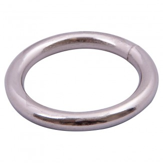 Welded nickel o-ring